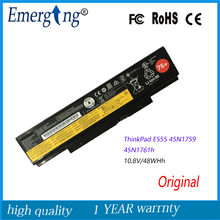 10.8VV 48WH Original Nova Bateria Do Portátil para LenovoThinkPad E555 E550C E550 Series 45N1760 45N1761