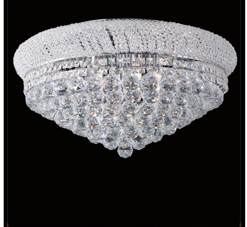 D360mm K9 Crystal Ceiling Light Fixture