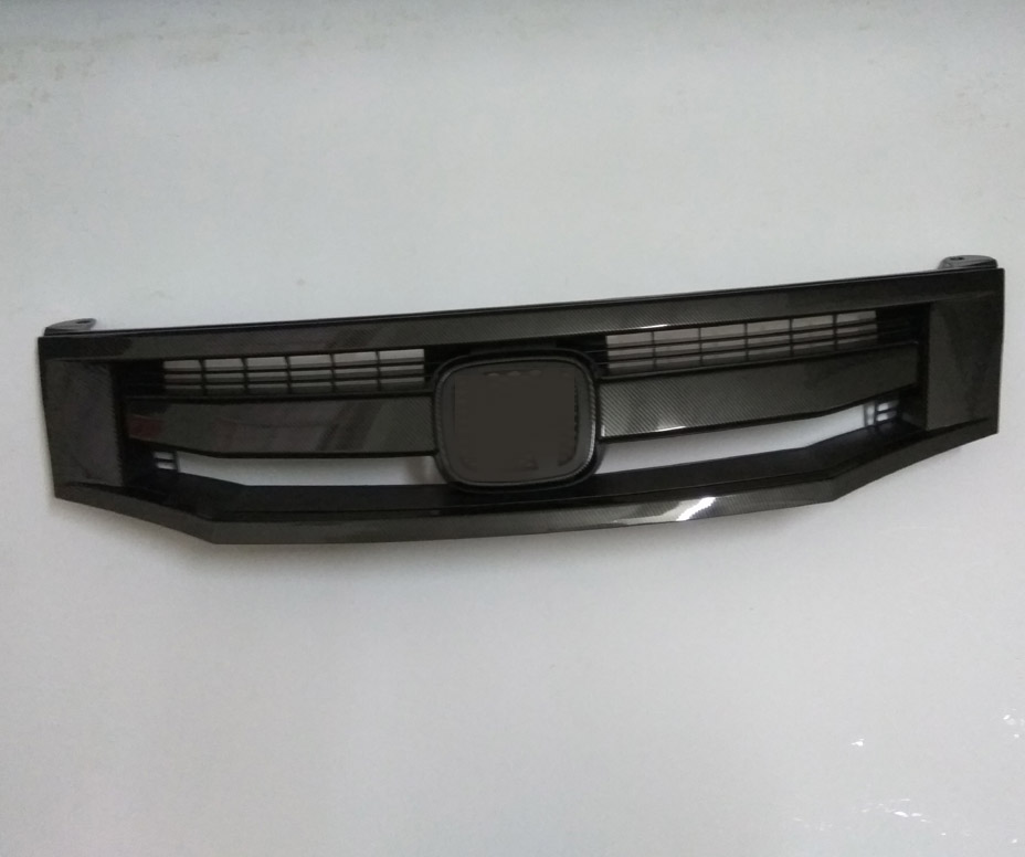For 2008-2011 Honda accord sports style ABS+Carbon OEM Front Radiator Bumper Grille цена
