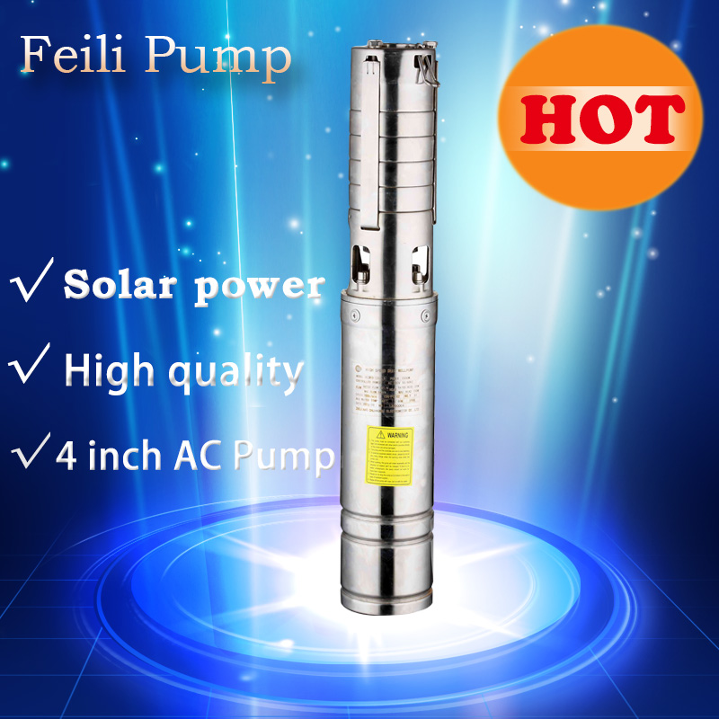 4 inch solar pump Reorder rate up to 80% solar power water pump system for irrigation solar borehole pumps irrigation water pump reorder rate up to 80% pool pump solar powered