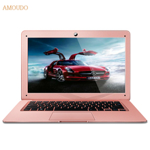 Amoudo-6C 8GB RAM+120GB SSD+1TB HDD 14inch 1920×1080 FHD Windows 7/10 Dual Disk Quad Core Ultrathin Laptop Notebook Computer