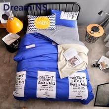 Dream NS Bedding Set 4pcs/3pcs Duvet Cover Sets Soft Polyester Bed Linen Flat Bed Sheet Set Pillowcase Home Textile Drop Ship