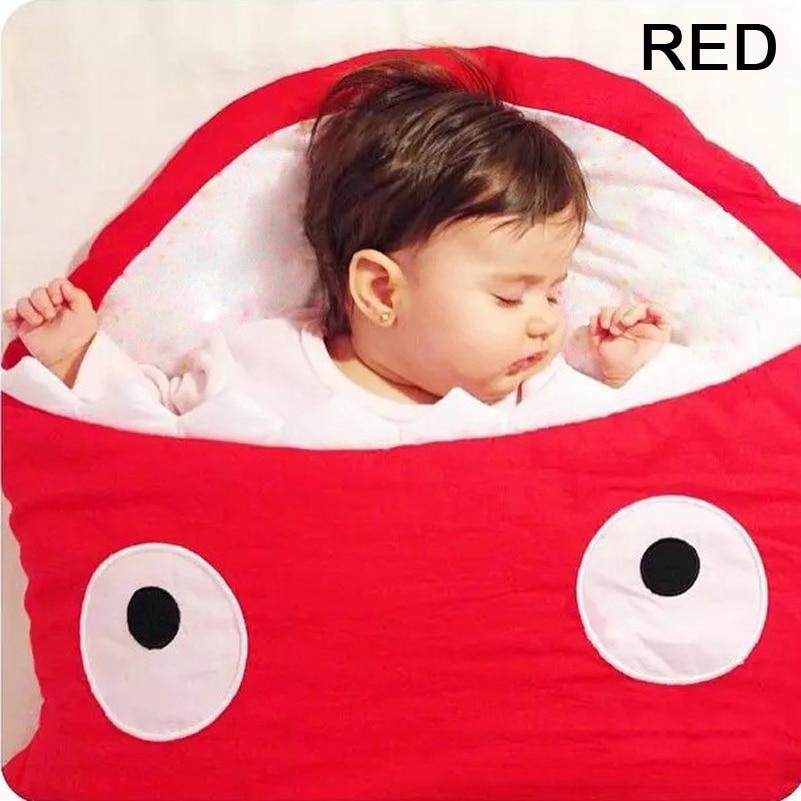 Newborns Baby Sleeping Bag Winter Strollers Bed Swaddle Blanket Wrap Cute Bedding Product Cartoon Shark In Sleepsacks From Mother Kids