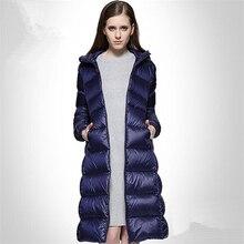 Autumn And Winter Warm Duck Down Winter Jacket Women Down Coat Down Parka 3 Colors European Style Coats Down Jacket Plus Size