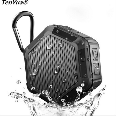 Portable Bluetooth Bass Speaker Mini Wireless Outdoors Sports Waterproof Subwoofer Loudspeaker for Smartphone With Mic Pakistan