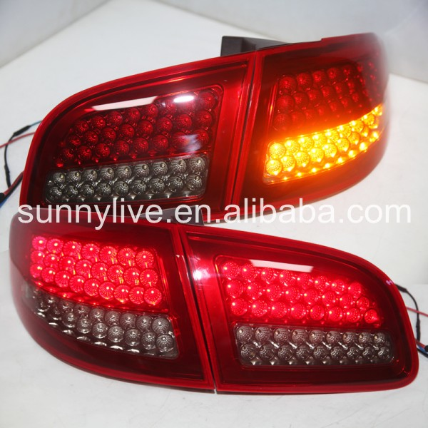Santa Fe full LED Tail light For HYUNDAI  2007-2012 year Red  smoke Color lee roach куртка