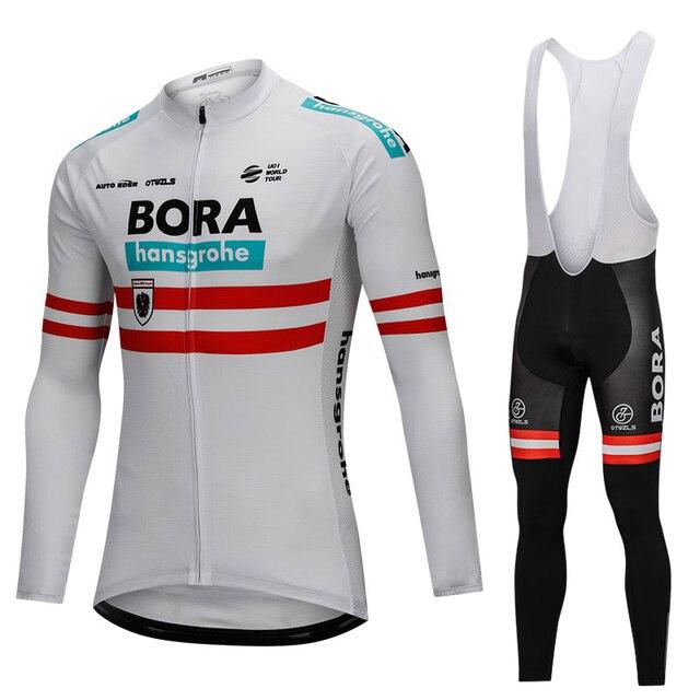 Bora Austria 2018 Champion Winter Thermal Fleece Men Warm Cycling Jersey  Set Cycling Clothing Mtb Riding Apparel Ropa Ciclismo 8f02ac403