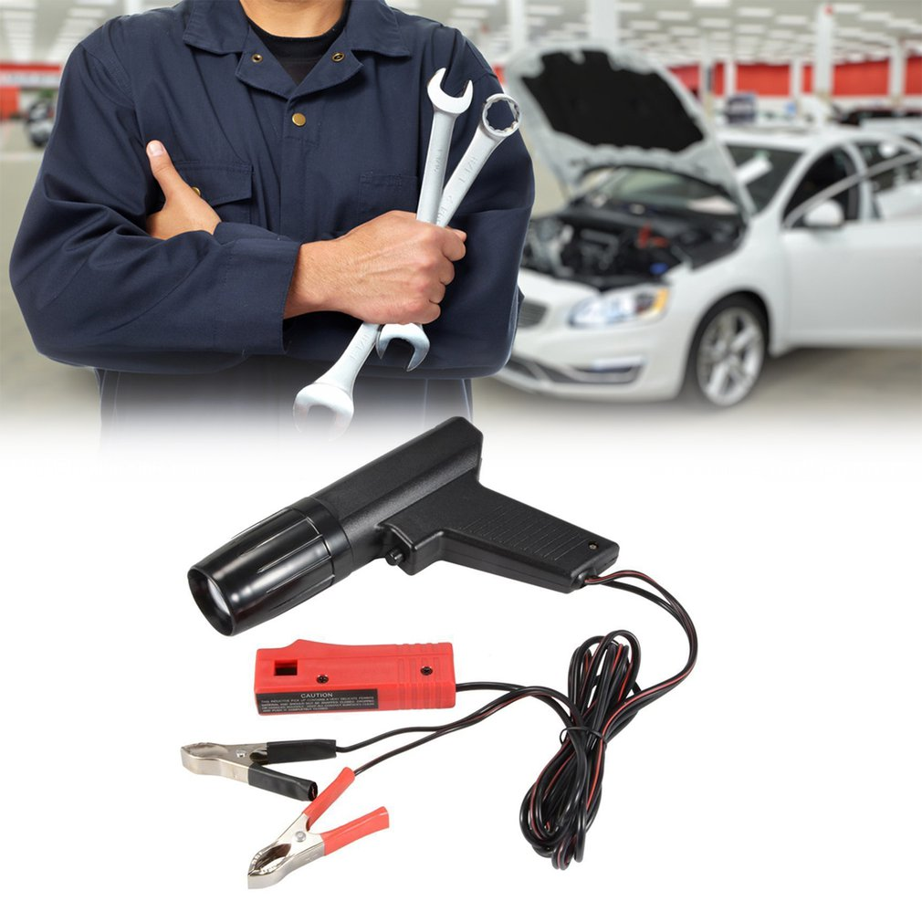 Professional Inductive Ignition Timing Light Ignite Timing Machine Timing Light Car Motorcycle Ship Repair-in Ignition Testers from Automobiles & Motorcycles