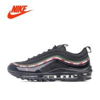 Orijinal Yeni Varış Resmi Yenilmez x Nike Hava Max 97 Nefes erkek Koşu Ayakkabı Spor Sneakers Marka Tasarım