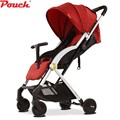 Pouch Lightweight  Stroller/Pushchair, Portable Baby Buggy with Canopy Hood, Storage Basket