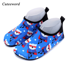 Kids barefoot shoes summer beach water aqua river snorkeling boys fashion batman cartoon soft rubber swimming socks