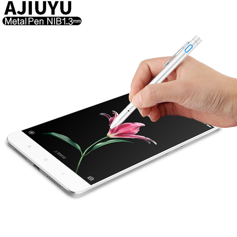 High precision Pen Active Stylus Capacitive Touch Screen For ZTE Nubia Letv OnePlus Meizu LeEco LEAGOO Cubot Case Mobile Phone