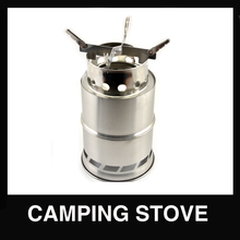 Foldable stainless steel wood stove for outdoor Camping
