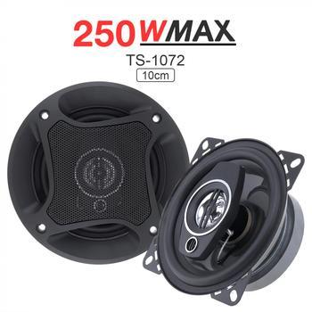 2 uds 4 pulgadas altavoz Coaxial 250W Sonido automático del coche de la motocicleta de Audio de música estéreo Frecuencia de rango completo altavoces Hifi