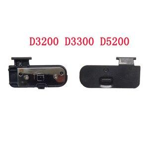 Image 4 - 10 개/몫 배터리 도어 커버 D3000 D3100 D3200 D400 D40 D50 D60 D80 D90 D7000 D7100 D200 D300 D300S D700 카메라 수리
