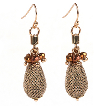 2016 New Arrived magician chain outside water droplets pendant tie in high quality crystal earrings For