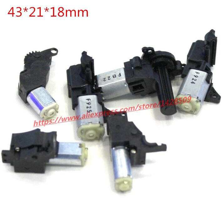 10pcs DC 3v 5v DC worm gear motor micro-reducer gearbox with encoder