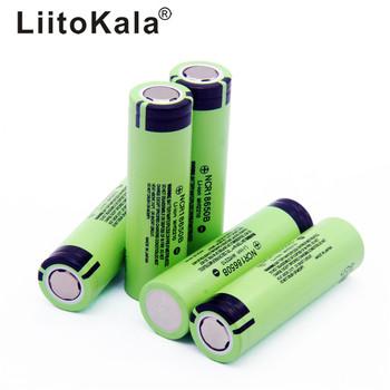 2019 LiitoKala 100 nowy oryginalny NCR18650B 3 7 v 3400 mah 18650 akumulator litowy do baterii latarki tanie i dobre opinie 1-10 Baterie Tylko 3001-3500 mAh Pakiet 1 Li-ion