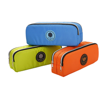 Buy TOPSTHINK pencil case solid color school stationery waterproof fabric pencil bag directly from merchant!