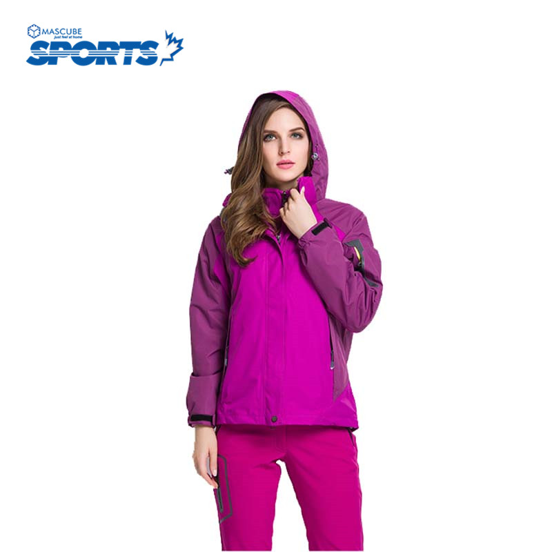 Winter Women And Men Ski Suit Outdoor Camping Jacket Climbing Waterproof Windproof Breathable Sport Coat winter men snowboarding jackets waterproof windproof ink camouflage ski suit camping travel climbing skating hiking ski jacket