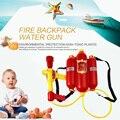 Ребенок Огонь Рюкзак Сопла Водяной Пистолет Игрушки Давление Воздуха Водяной Пистолет Летом Пляж Горячей Продажи