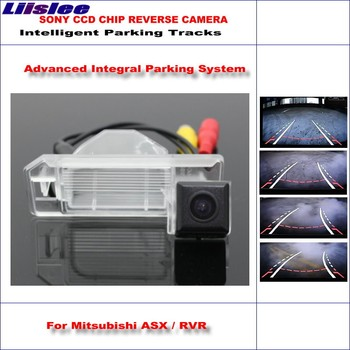 Liislee Backup Rear Reverse Camera For Mitsubishi ASX / Outlander Sport / HD 860 Pixels 580 TV Lines Intelligent Parking Tracks