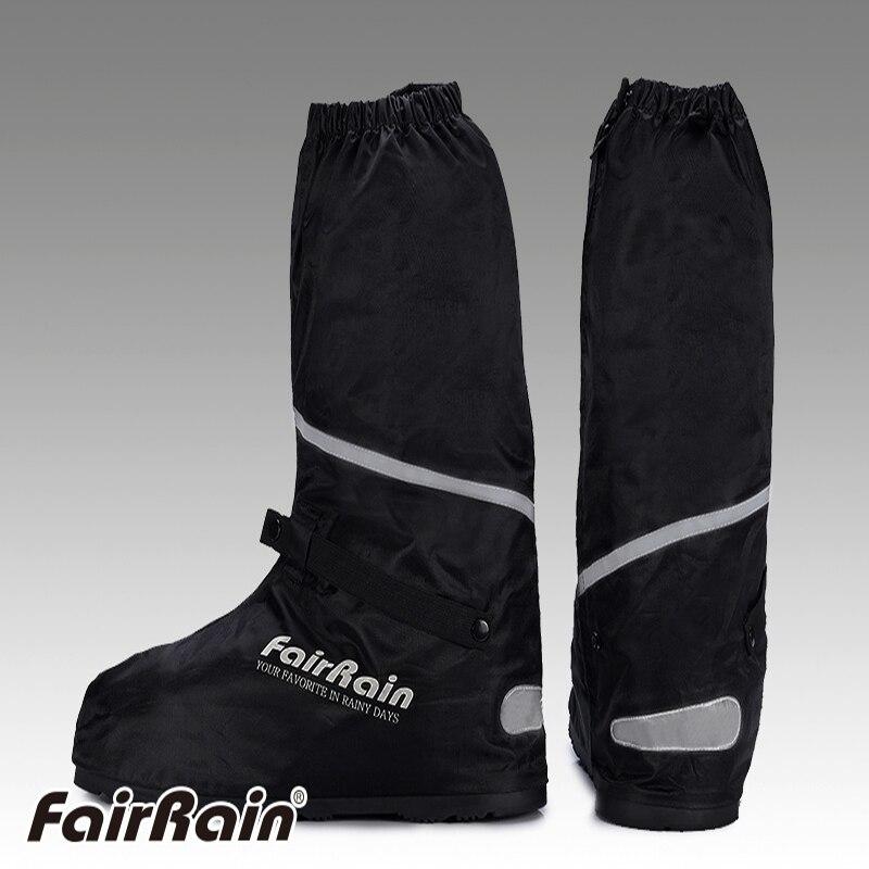 Autentici uomini 's scarpe high-top modelli Gaotong pioggia coperture impermeabili del pattino spessa antiscivolo weatherization moto può essere riutilizzato