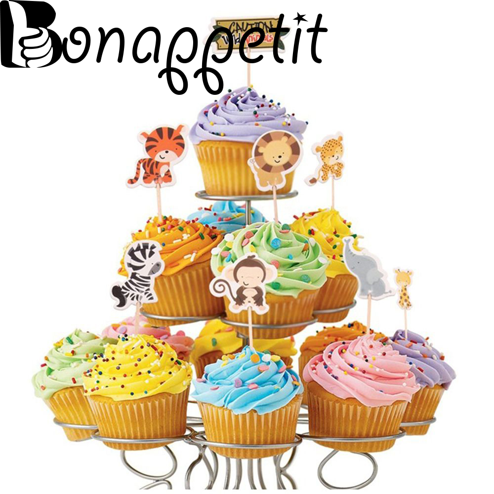 Shop For Cheap Thanksgiving Cupcake Kit 24 Baking Cups And Picks Highly Polished Home & Garden Baking Cups & Liners