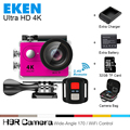 2017 Original Eken 4K Ultra HD WiFi sport action camera Slim Gopro Hero 4 Video Cam Go Underwater waterproof H9r pro style