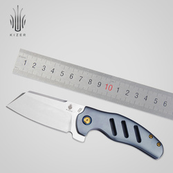 Kizer Sheepdog S35VN coltello KI4488A/Ki4488 all'aperto lame di sopravvivenza di combattimento pieghevole coltelli tattici di alta qualità strumento mano