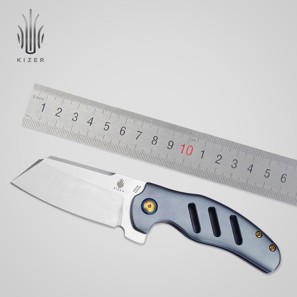Kizer Sheepdog S35VN lama esterna coltelli da combattimento pieghevole coltelli tattici di sopravvivenza attrezzo manuale di alta qualità