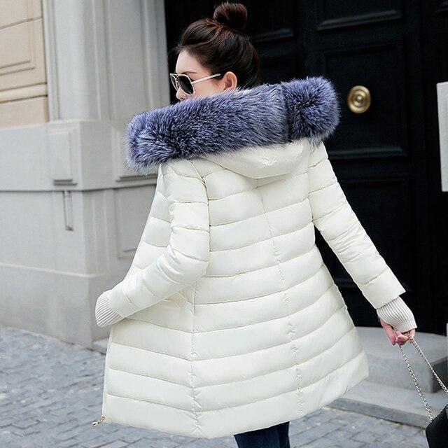 Winterjas Dames 2019 Bont.Winterjas Vrouwen 2019 Hooded Warm Down Jas Dikke Parka Vrouwen