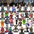Nuevo Single Venta Marvel DC Super Heroes Batman Modelo de Bloques de Construcción Para Niños Juguetes Regalos