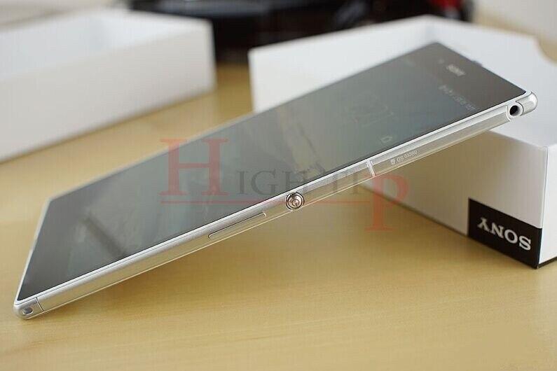 מקורי סמארטפון Sony Xperia Z Ultra XL39h אנדרואיד Quad-קור 16GB ROM C6802 C6833 GSM 3G ו-4G 6.4 אינץ 8MP WIFI שופץ טלפון