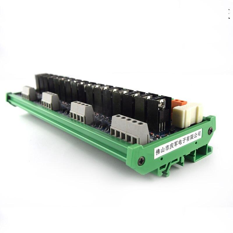 16 way plc dc placa amplificadora placa de 01