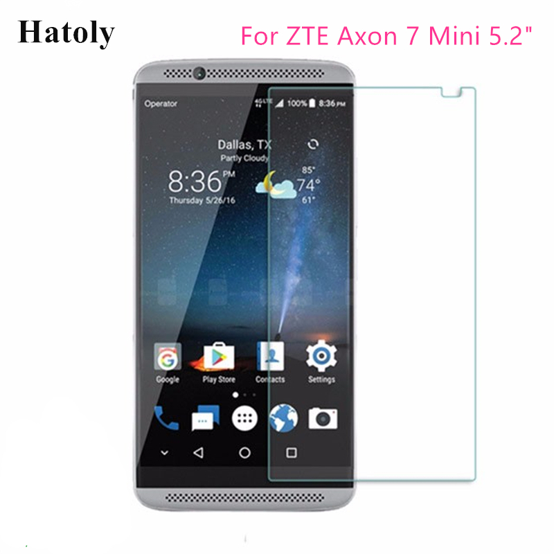 ZYS Screen Protector 100 PCS 9H 2.5D Tempered Glass Film for LG Q7