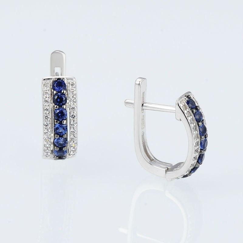 E303082BZZSK925-SV2-Silver Earrings