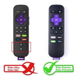 Image 2 - Caso SIKAI para ROKU remoto IR Remoto Padrão Original caso para caso Expresso para Roku ROKU Streaming de Estréia 4 K media Player