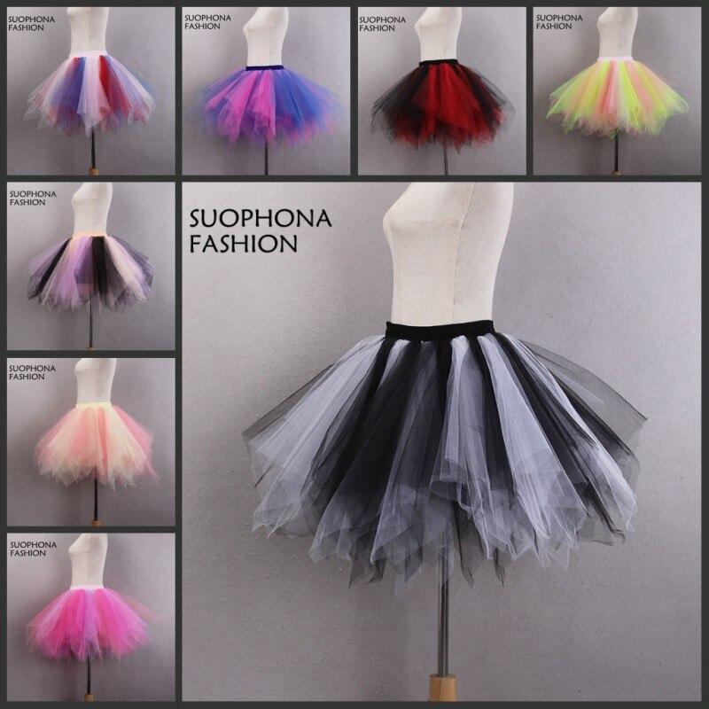 SUOPHONA Store New Arrival Colorful Shirt Petticoat Crinoline 2017 underskirt Wedding Accessories Petticoats Vestido de noiva Hoepelrok anagua