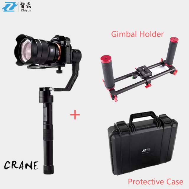 (Offical distributor) ZhiYun Crane Brushless Camera Stabilizer Gimbal for DSLR Mirroless Canon Cameras VS Beholder DS1 MS1