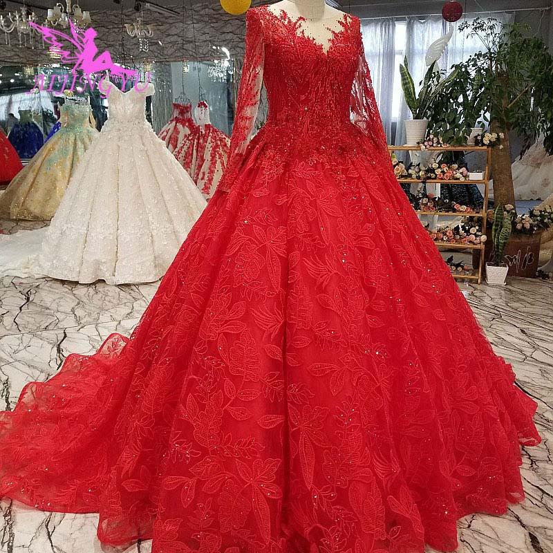 Image 4 - AIJINGYU Wedding Dress Lebanon Gorgeous Gowns Sell Luxury Lace White Corset 2019 Vintage Boho Gown Clearance Wedding DressesWedding Dresses   -