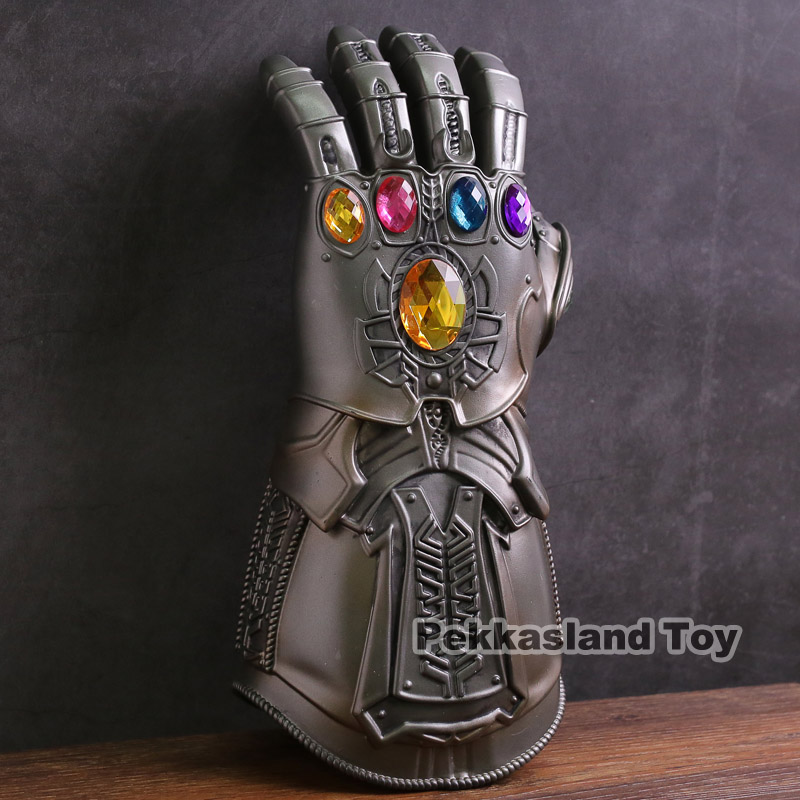 1:4 Thanos Infinity Gauntlet Hand Avengers War Replica Resin Action Figure Gifts