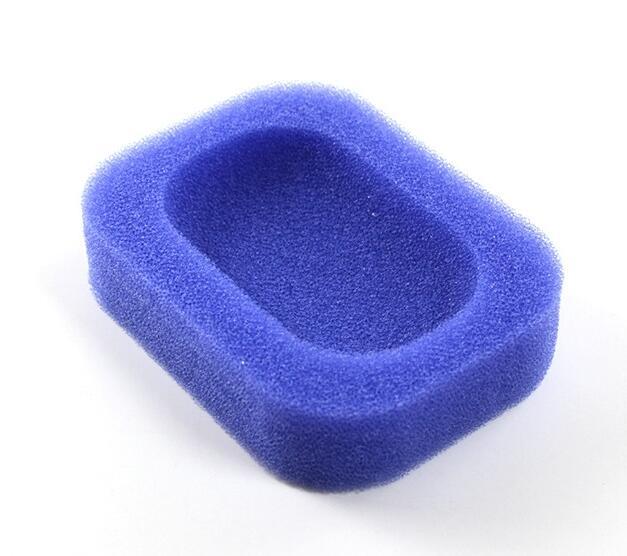 Домашний 2 шт. Набор для ванной Губка Мыло Dishe коробка абсорбент легко сушить мыло держатель путешествия Кухня Аксессуары для дома мыльница H776 - Цвет: H776 Dark blue