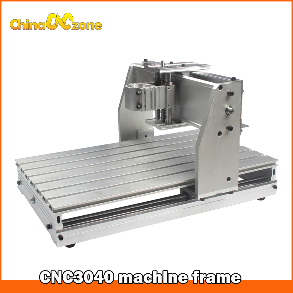 Assembly kit CNC Machine Spare Part CNC 3040 Z 52mm Fixture with Ball Screw DIY CNC Frame for CNC Milling Machine eur free tax cnc 6040z frame of engraving and milling machine for diy cnc router