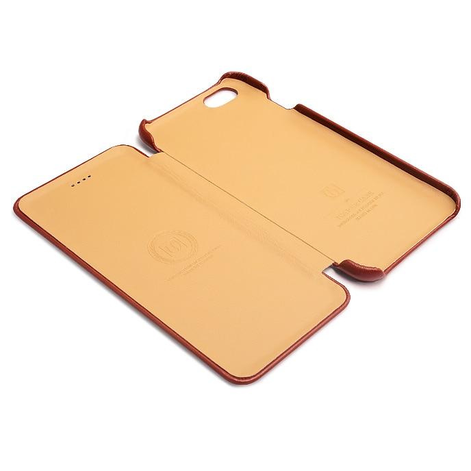 Original ICARER-korthållare äkta läderfodral för iPhone6 6s - Reservdelar och tillbehör för mobiltelefoner - Foto 6