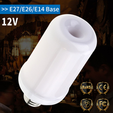 E27 Flame LED Bulb 12V E26 Fire Light 7W E14 Candle Flickering Emulation Effect Lamp Holiday Decoration