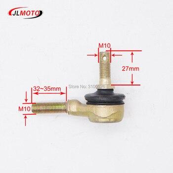 1 Pair M10-M10 Tie Rod End Kits Ball Joint Fit For China ATV 50cc 110cc 150cc 200cc 250cc 300cc Go Kart Karting Quads Bike Parts
