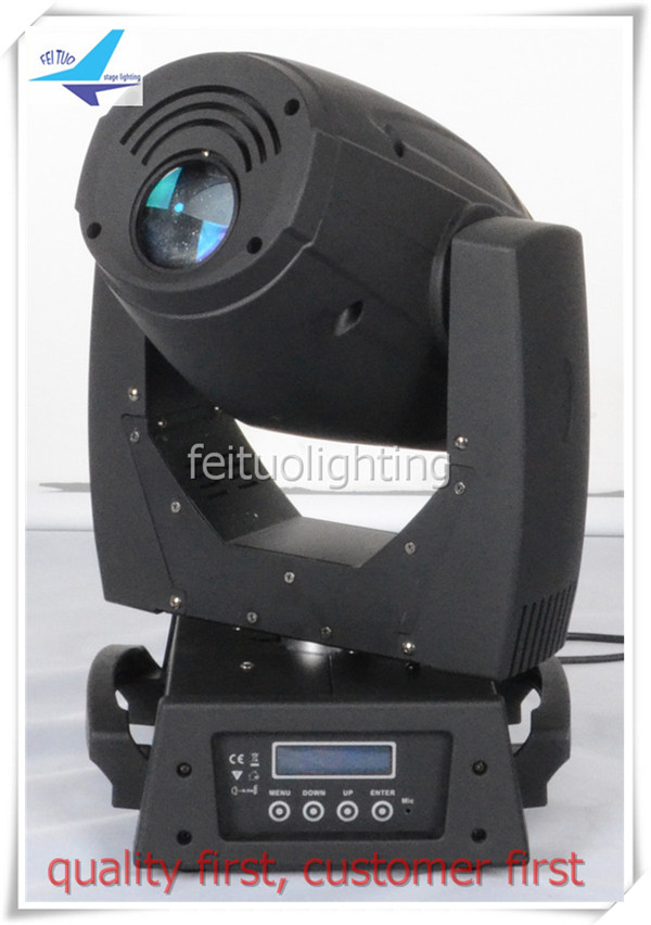 A-4pcs 3-prism 180 watt LED spot lighting 180W led moving head gobo stage effect light/road case