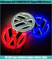 1 Unidades de Etiqueta Engomada Del Coche 4D Impermeable LED EL logo Emblema de la Lámpara de luz Fría luz de insignia para VW Golf 6/MAGOTAN/CC/Tiguan/BORA/Scirocco