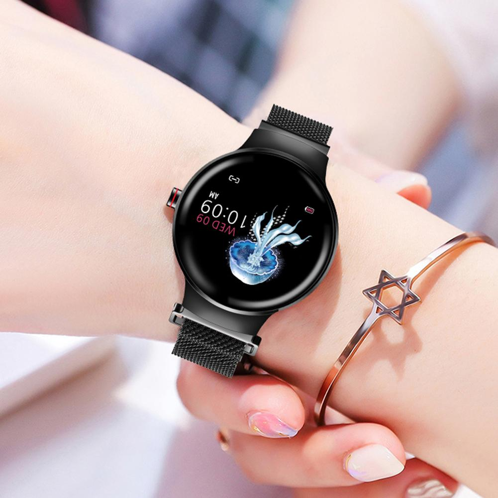 H5 Smart femmes Bracelet Bluetooth Fitness Tracker couleur écran tactile étanche montre fréquence cardiaque activité période de suivi